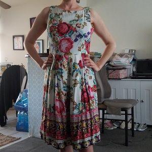 Eva Franco Floral Dress